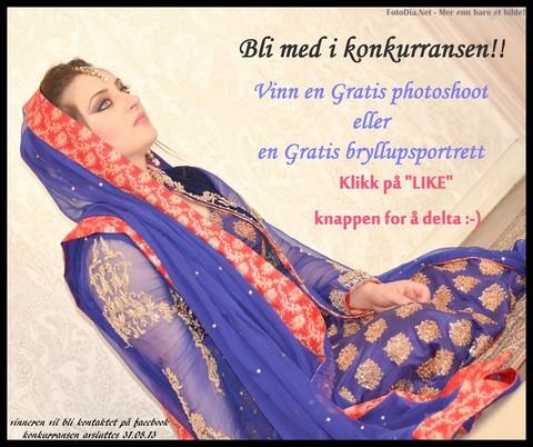 Sommerkonkurranse - Foto - Modell - Bryllup